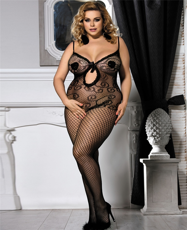 Bodystocking Donna plus
