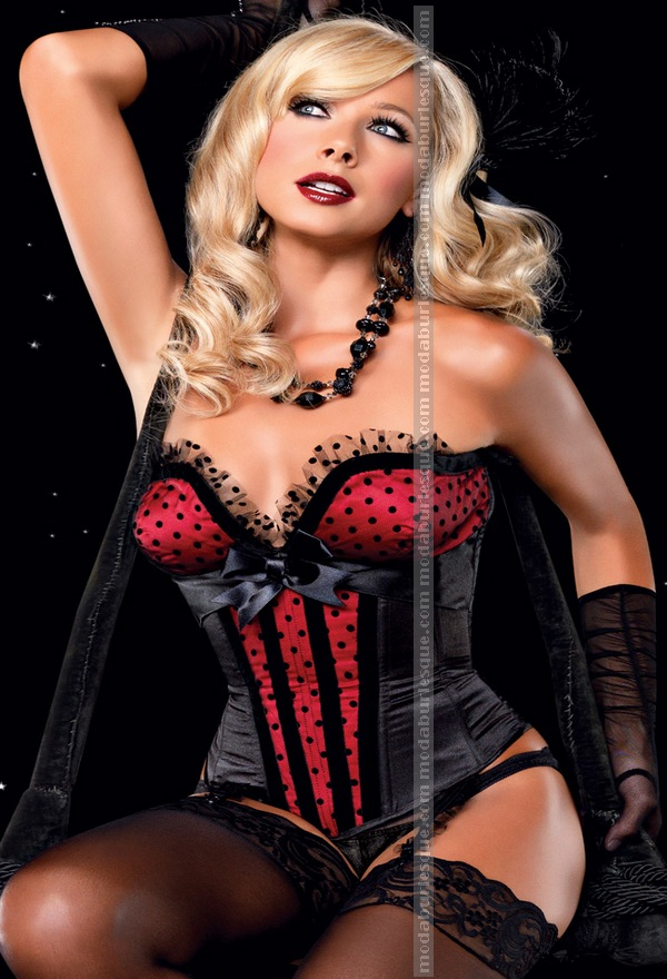 Bustier pin up S,M,L,XL,2XL