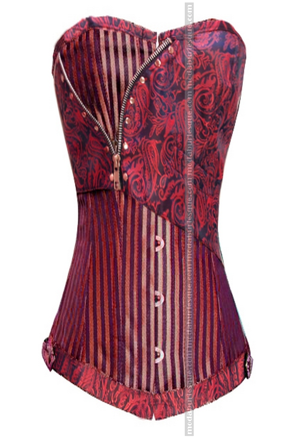 Corsetto vittoriano red