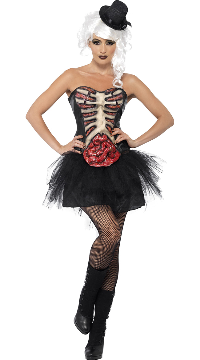 Costume burlesque grottesco